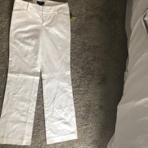 Women's mid waist and straight hip pants